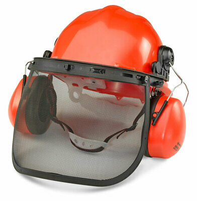 BBrand Forestry Kit - Helmet, Ear Defenders, Face Shield & Chin Strap