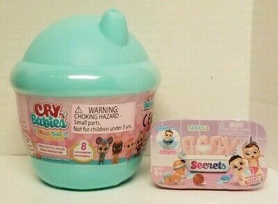 Cry Babies Magic Tears Bottle House with FREE Baby Secrets Blind Pack