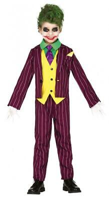 Costume Joker assassino buffone bambino