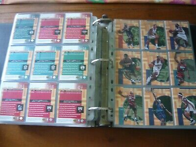 NBA Upper Deck Hardcourt set completo 102 cards con rc numbered at 900
