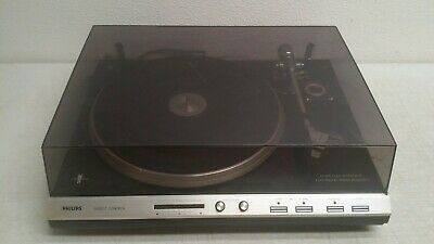 Philips AF829 Turntable fully automatic electronic speed 33 & 45 record player