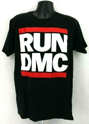 ADIDAS ORIGINALS X Run Dmc WhiteGreyBlack T Shirt Tee Xs