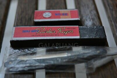 "NOS Rare China Straight Razor ""Double Arrow Barber Razor"" No. 66"