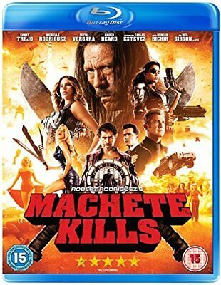 Machete Kills [Blu-ray] [DVD][Region 2]
