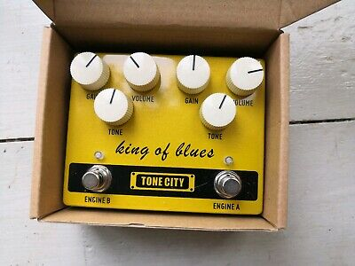 Tone City King of Blues - Dual Overdrive Guitar Effects Pedal