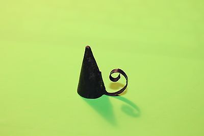 Primitive Early 18th ~ 19th Century Style Tiny Miniature Tin Candle Snuffer