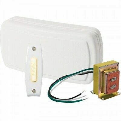 Lighted Pushbutton for Home 0.75 x 1 x 3.125 Gold Broan-NuTone PB19LGL Doorbell