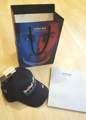 Red Bull Racing Formula 1 Factory Tour History Book and Adult Cap with Bag