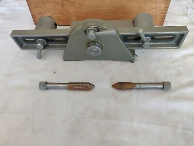 Mitutoyo 176-105 Toolmaker precision angle comparator with wooden box Clean nice