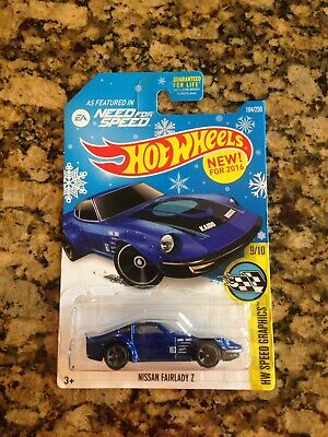 2016 Hot Wheels Nissan Fairlady Z Snowflake *Target Exclusive* Case F