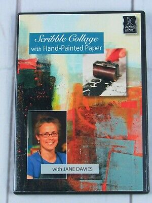 Scribble Collage: With Hand-Painted Paper with Jane Davies - V1619