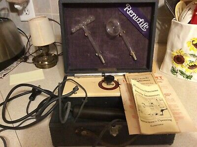 Vintage Renulife Violet Ray Generator 1926...Works Great!