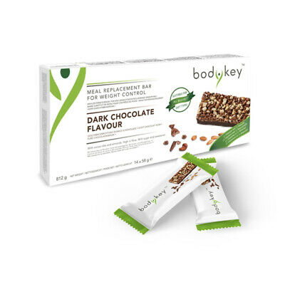 bodykey by NUTRILITE MEAL REPLACEMENT BAR DARK CHOCOLATE