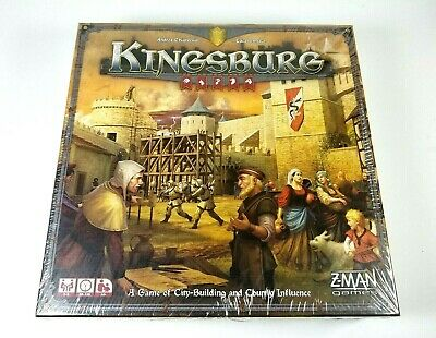 Kingsburg Game Z-Man Games Andrea Chiarvesio and Luca Iennaco Brand Sealed