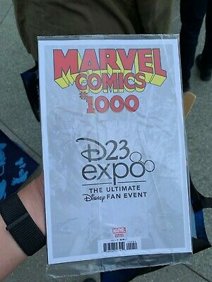 D23 Expo 2019 Marvel Comics #1000 Ramos variant Cover exclusive In Hand Comic