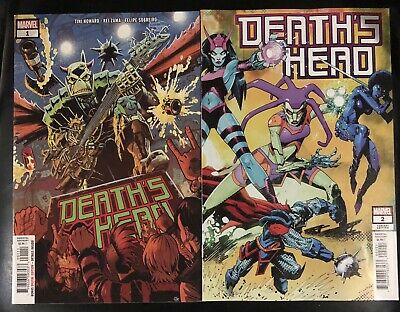 DEATH'S HEAD #1 (Main Cover) & #2 (Variant Cover) 2019 NM Marvel Comics
