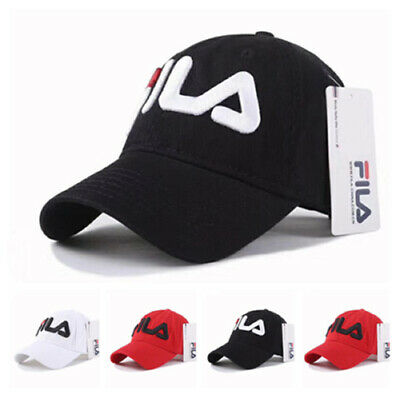 FILA Unisex Baseball Cap Snapback Hat Men Hip-Hop Adjustable Women Sport Cap