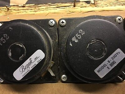 Vintage Bozak column speaker tweeter Model B-200Yc 8 ohm