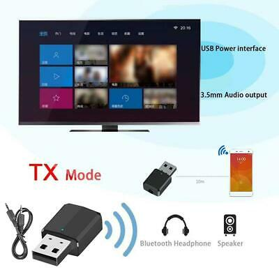 2 in 1 Wireless Bluetooth 5.0 Transmitter Receiver 3.5mm AUX Stereo Adapter