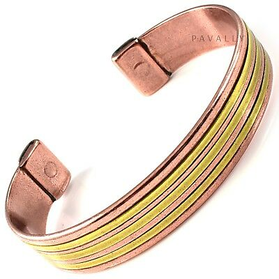 COPPER MAGNETIC BRACELET health bangle carpal tunnel arthritis pain relief NEW