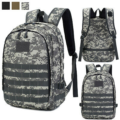 30L Military Tactical Backpack Molle USB Waterproof Trekking Rucksack Daypack