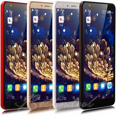 "Cheap Unlocked 5.5"" Android 8.1 Mobile Smart Phone Quad Core Dual SIM WiFi GPS"