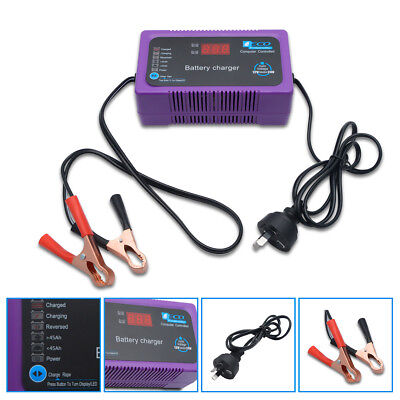 Intelligent 12V Electric Car Motorcycle Battery Charger Automatic Smart Trickle