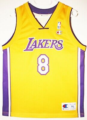 Champion NBA Basketball Trikot Jersey Los Angeles Lakers Kobe Bryant 48 XL