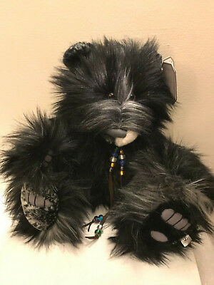 Silver Tag® Bear ~Fabulous FINLEY~ Needs HUGS Very Collectable Opportunity!