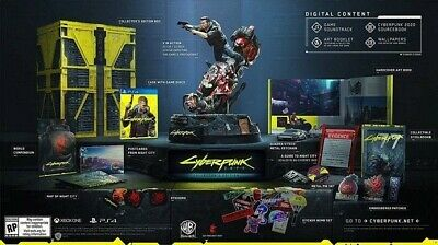 Cyberpunk 2077 Collectors Edition PS4 Playstation 4 Preorder Worldwide shipping!