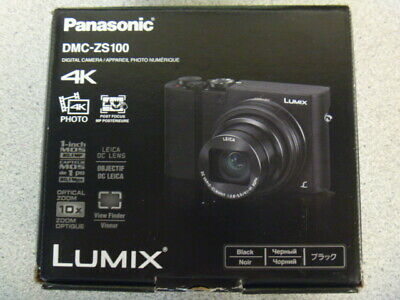 Panasonic Lumix 4K DMC-ZS100 (BLACK)