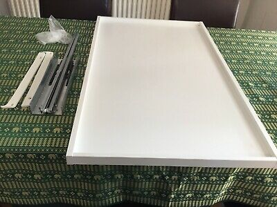 IKEA KOMPLEMENT PULL Out Tray 100cm X 58cm  White  *Collection Only*