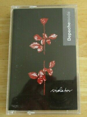 Depeche Mode cassette Violator, c stumm64, mute records
