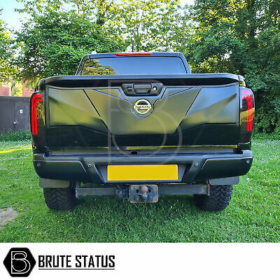 LED Tail Lights for Nissan Navara NP300 Smoked Tail Lamp D23 2015-2019