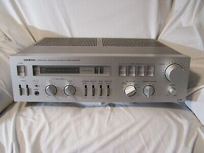 Onkyo A-35 Hi-Fi Stereo Integrated Amplifier Top Tustand