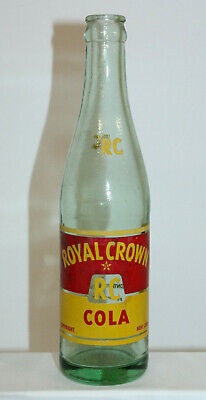 Vidalia GA Royal Crown RC Cola 10 oz Soda Bottle Nehi Bottling Works ACL