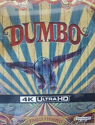 Dumbo Steelbook Blu Ray  4K Ultra Hd  + Blu Ray   Neuf Sous Cellophane