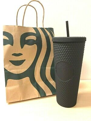 New Starbucks Matte Black Studded Tumbler Cup Limited Edition Fall 2019 Venti
