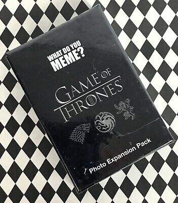 Game of Throne Card Card Game Photo Expansion Pack HBO What Do You Meme? B22-25