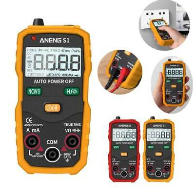 ANENG LCD Display Backlight Digital Multimeter AC/DC Amp Volt Ohm Tester Meter