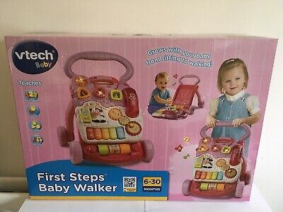 VTech Baby First Steps Baby Walker - Brand New