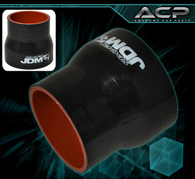 "Jdm Coupler Hose 2/"" 3/"" Straight Pipe High Temp Quality Adapter Silicone Black"