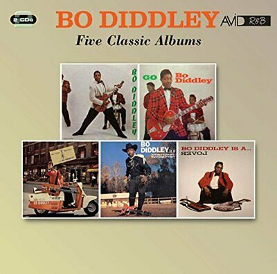 Bo Diddley - Five Classic Albums (Bo Diddley / Go Bo Diddley / Have [CD]