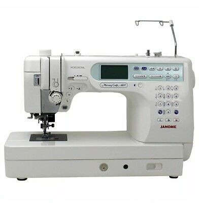 Janome Memorycraft Sewing Embrodiery Machine Professional 6600P Computerised