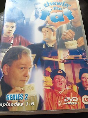 Chewin The Fat Dvd Oop Rare Comedy Series 2 Episodes 1 To 6