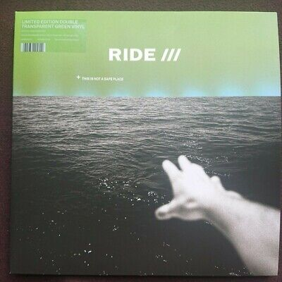 Ride - This Is Not A Safe Place 2Lp Green Vinyl - Signed!!