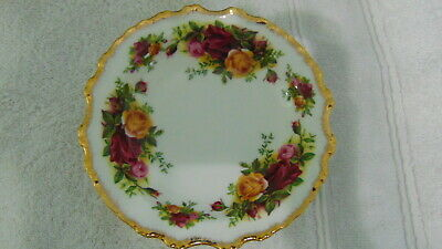 Royal Albert Old Country Roses Small Dish Nut Or Fruit Bowl England Gold Rim