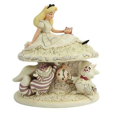 Pre-Order - Disney Alice In Wonderland White Woodland Figure (See Desc For Detai
