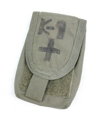 Paraclete Small Medical Pouch Smoke Green SG CAG DELTA SOF MOLLE