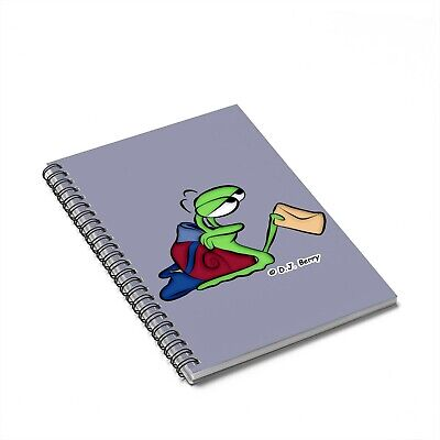 """""""The Grover Guys"""" Delivery Snail Spiral Notebook"""